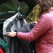 The Dry Bag Hanger and Car